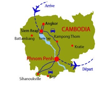 North to South Cambodia - Cambodia tours with Tonkin-Travel