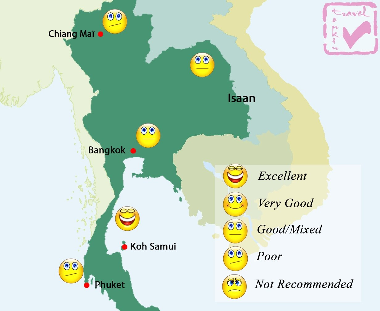 Thailand Weather Map.Thailand Weather In July Best Time To Travel To Thailand