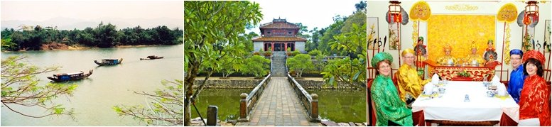 Private Hue imperial city tour from Chan May port